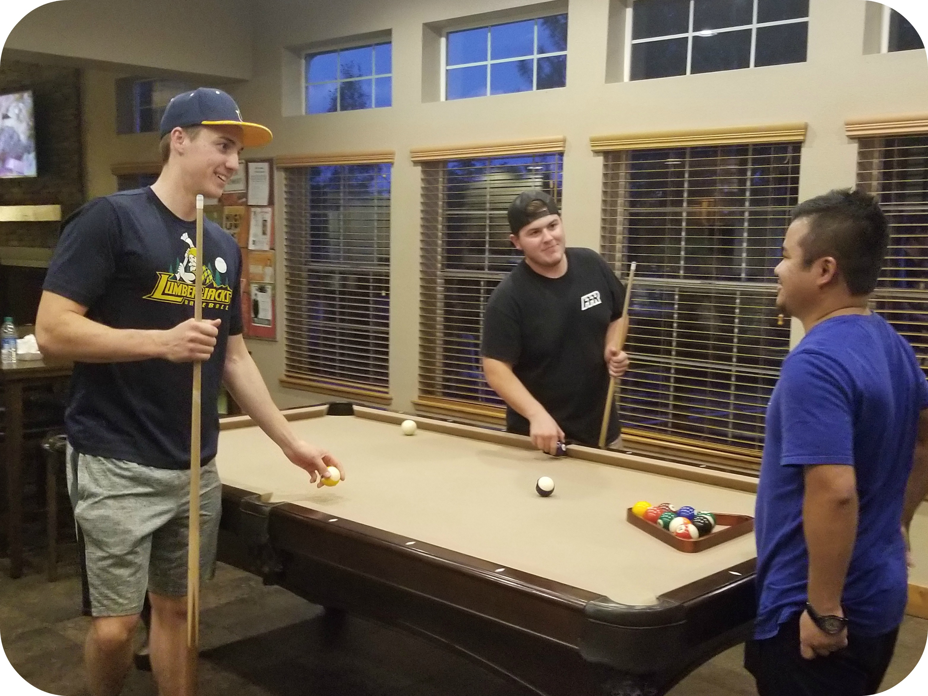 Highland Village Clubhouse Pool Table