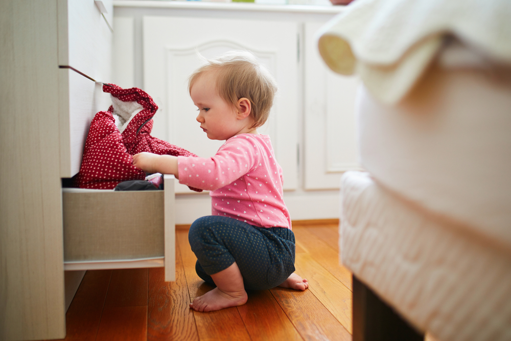 Before you move or welcome your new bundle of joy home, be sure to childproof your apartment.