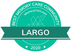 Pacifica Senior Living Belleair is a MemoryCare.com Best Memory Care Community winner for 2020!