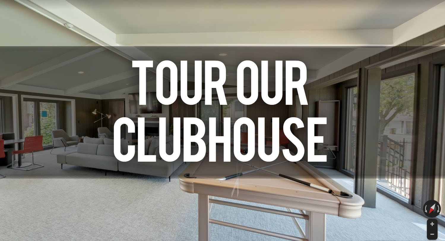 Virtual Tour Clubhouse at Carriage Hill Apartments in East Lansing MI