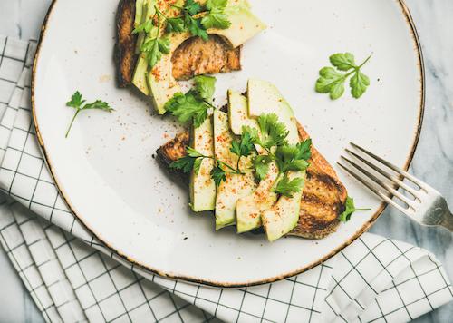 takoda has great avocado toast