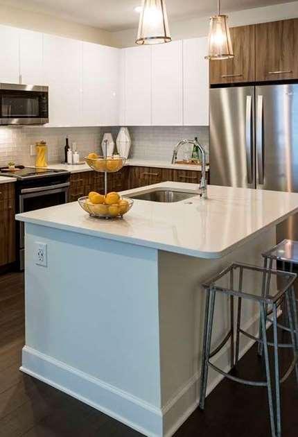 Photo of a Amorance unit kitchen