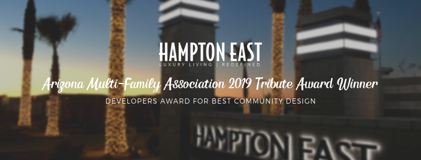 2019 AMA Tributes Award Winner for Best Community Design