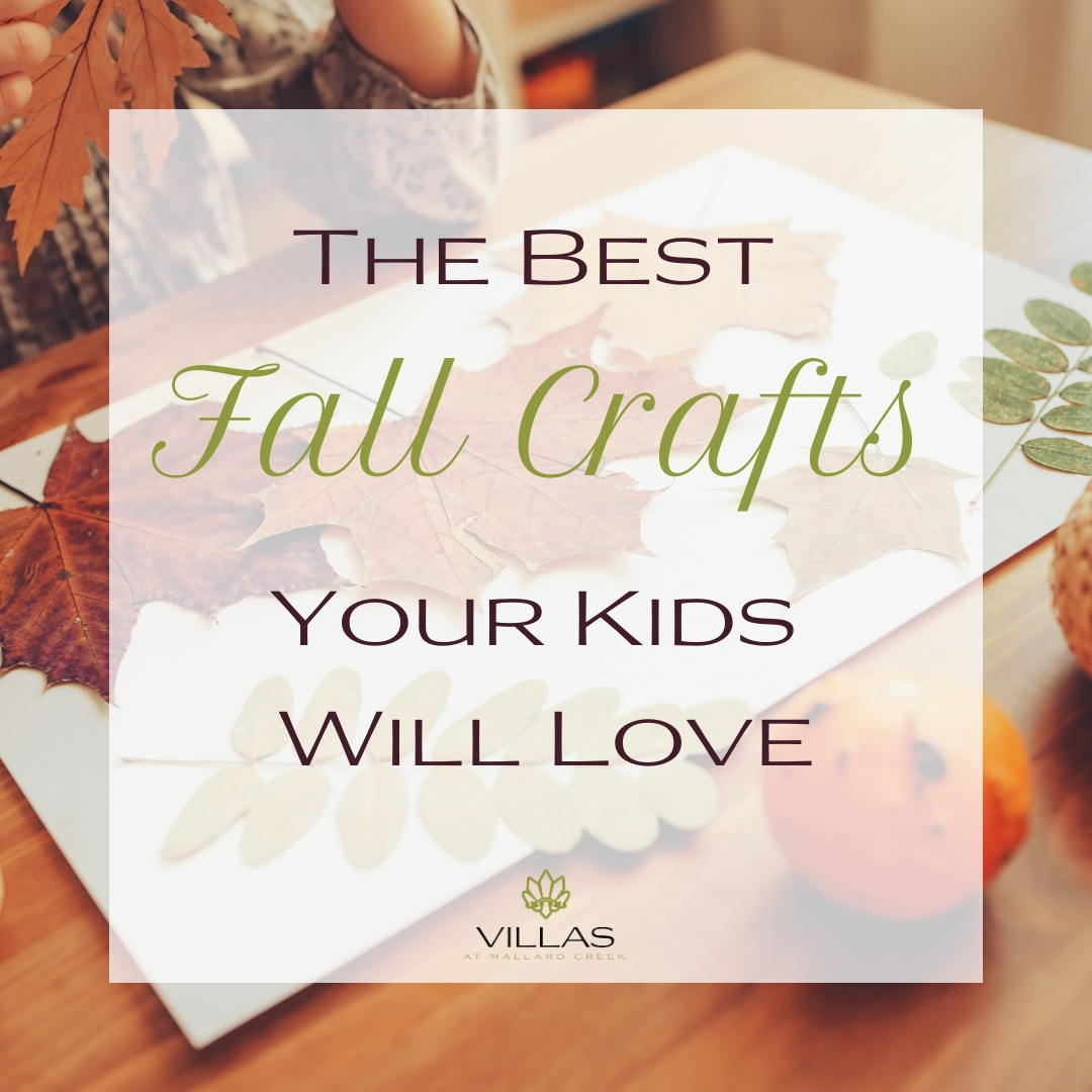 The Best Fall Crafts Your Kids Will Love | Villas at Mallard Creek Apartments