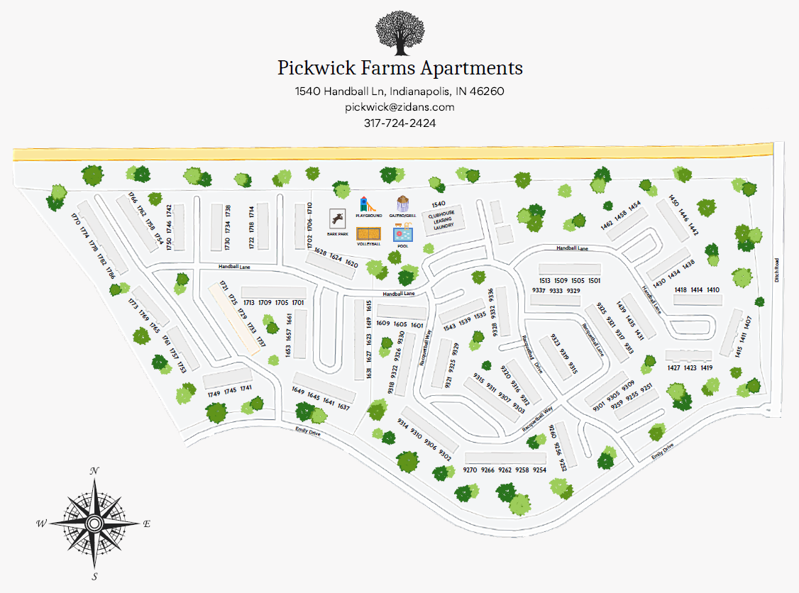Pickwick Farms Property Map