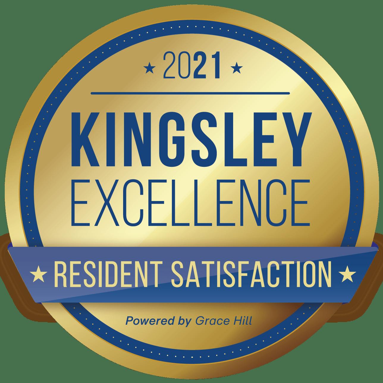 kingsley excellence award logo