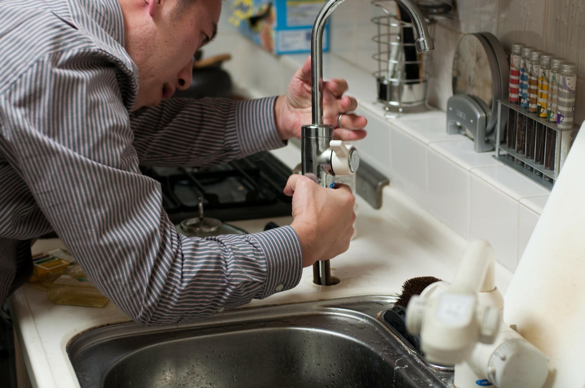 Plumbing repairman