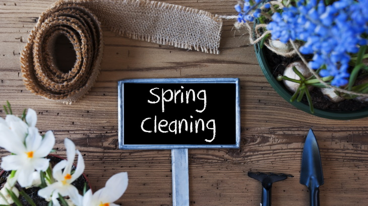 luxury apartment spring cleaning