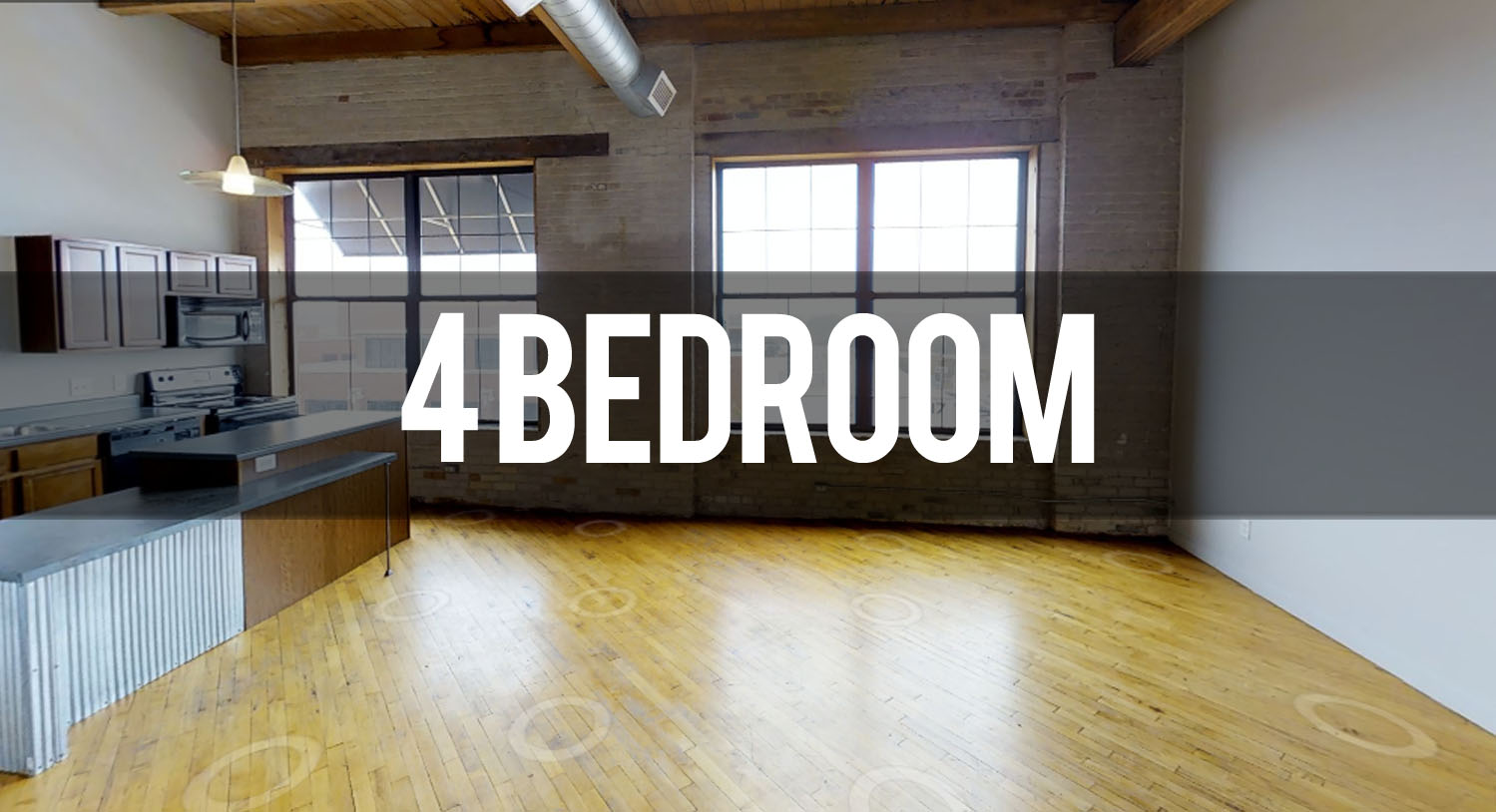 Take a Virtual Tour 4 Bedroom Apartment at Hopson Flats Apartments