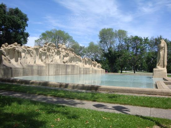 Chicago's Fountain of Time