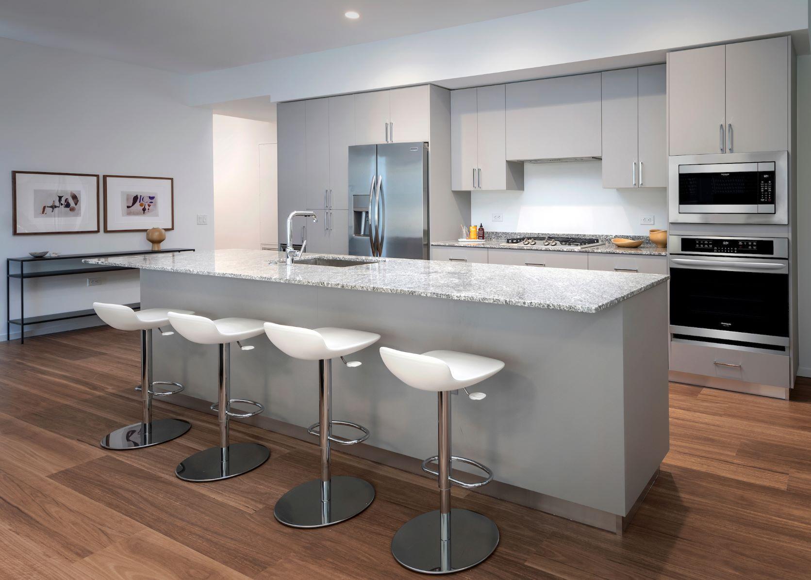 Designer kitchen finishes by Optima Kierland Apartments
