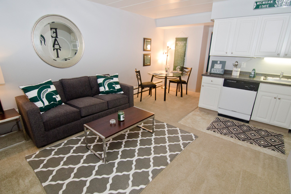 Burcham Woods Apartments | East Lansing Apartments Near Michigan State University