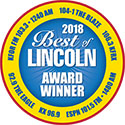 2018 Best of Lincoln Award Winner