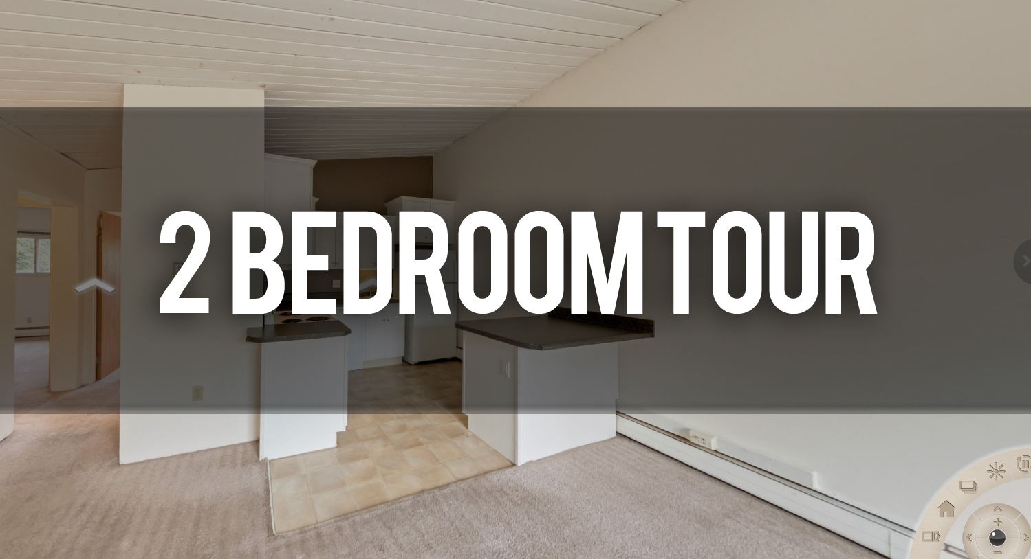 Take a Virtual Tour 2 Bedroom Apartment at Burcham Woods