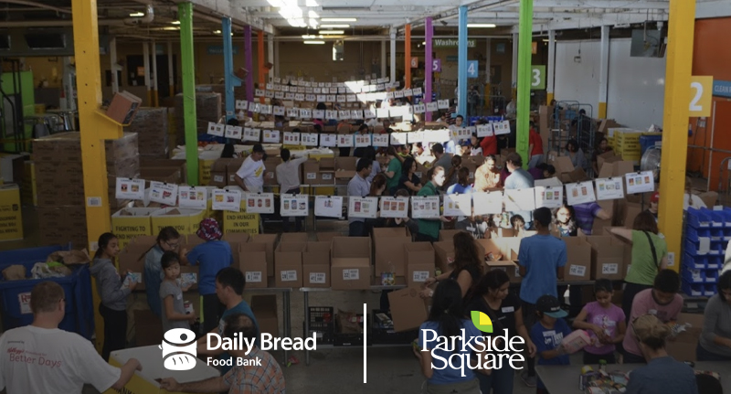 Parkside Square + Daily Bread Food Bank