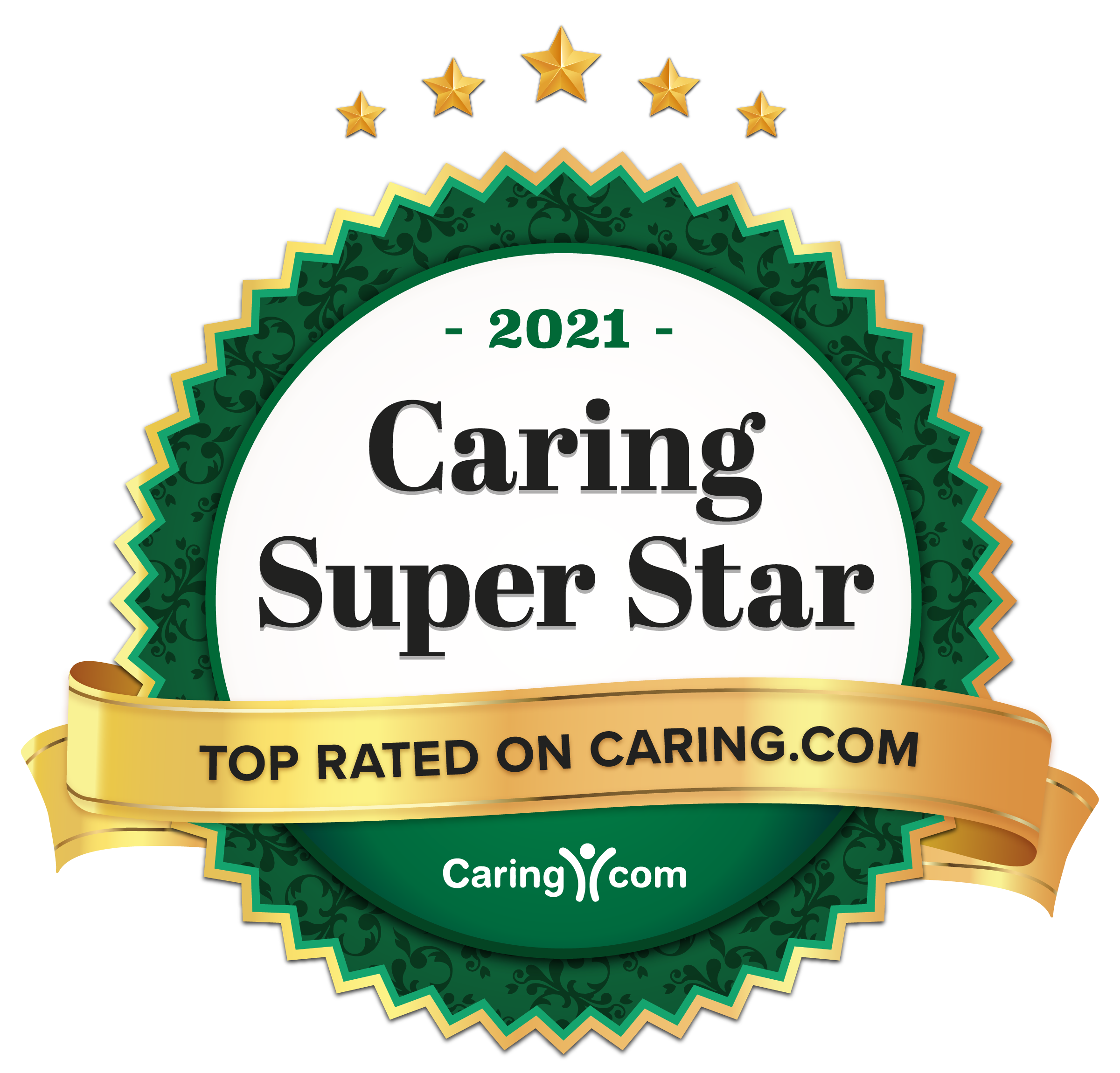 The Meridian at Westwood is a Caring.com Caring Super Star Community for 2021!