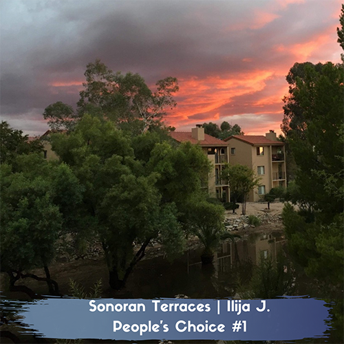 Sunset at Sonoran Terraces Apartment Homes