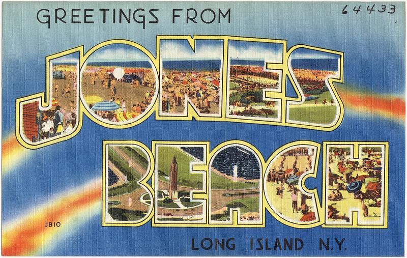 postcard jones beach