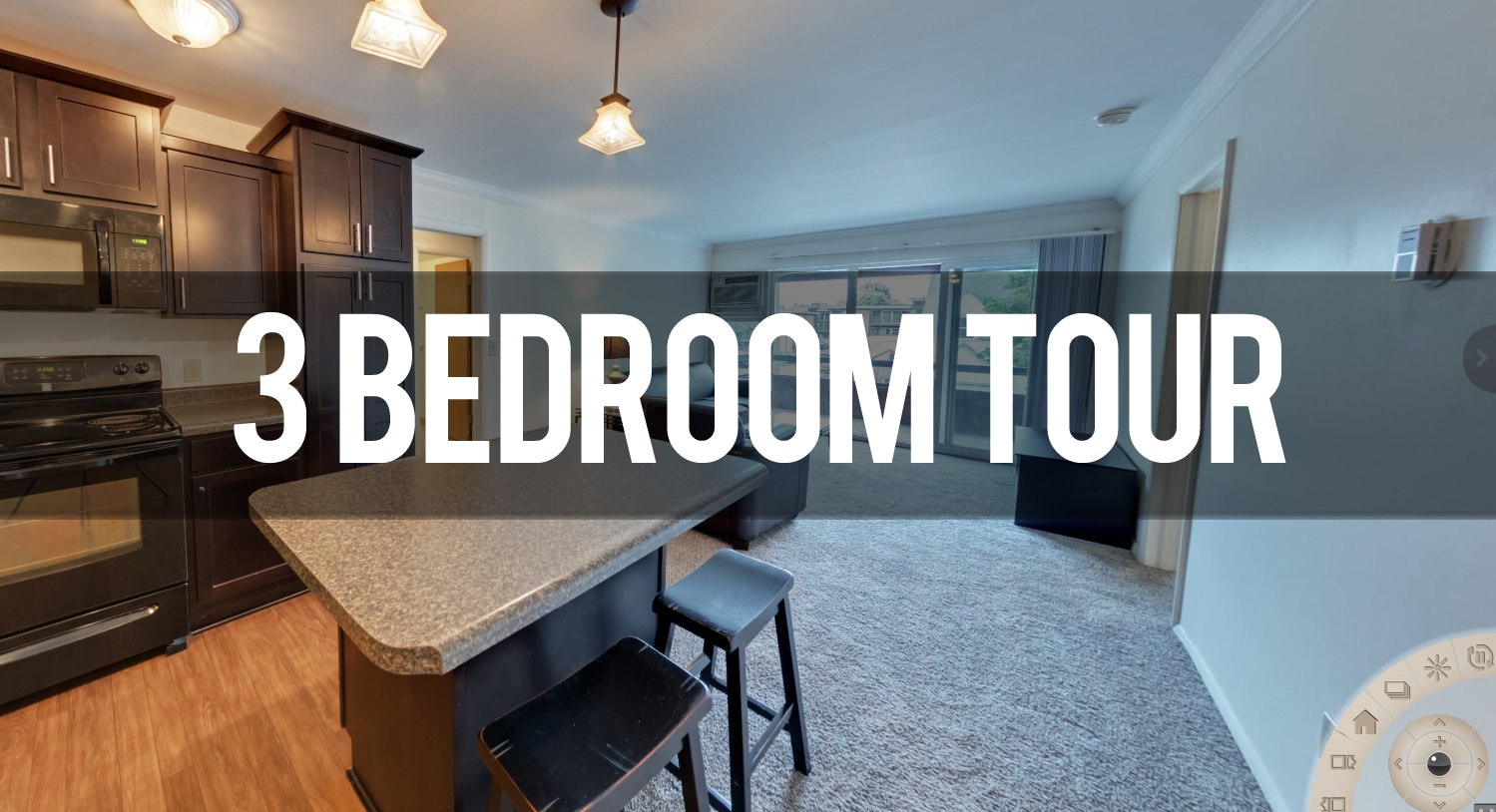 Virtual Tour of Americana Apartments in East Lansing | Michigan State University Apartments