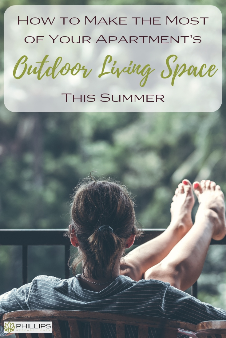How to Make the Most of Your Apartment's Outdoor Living Space | Phillips Research Park Apartments