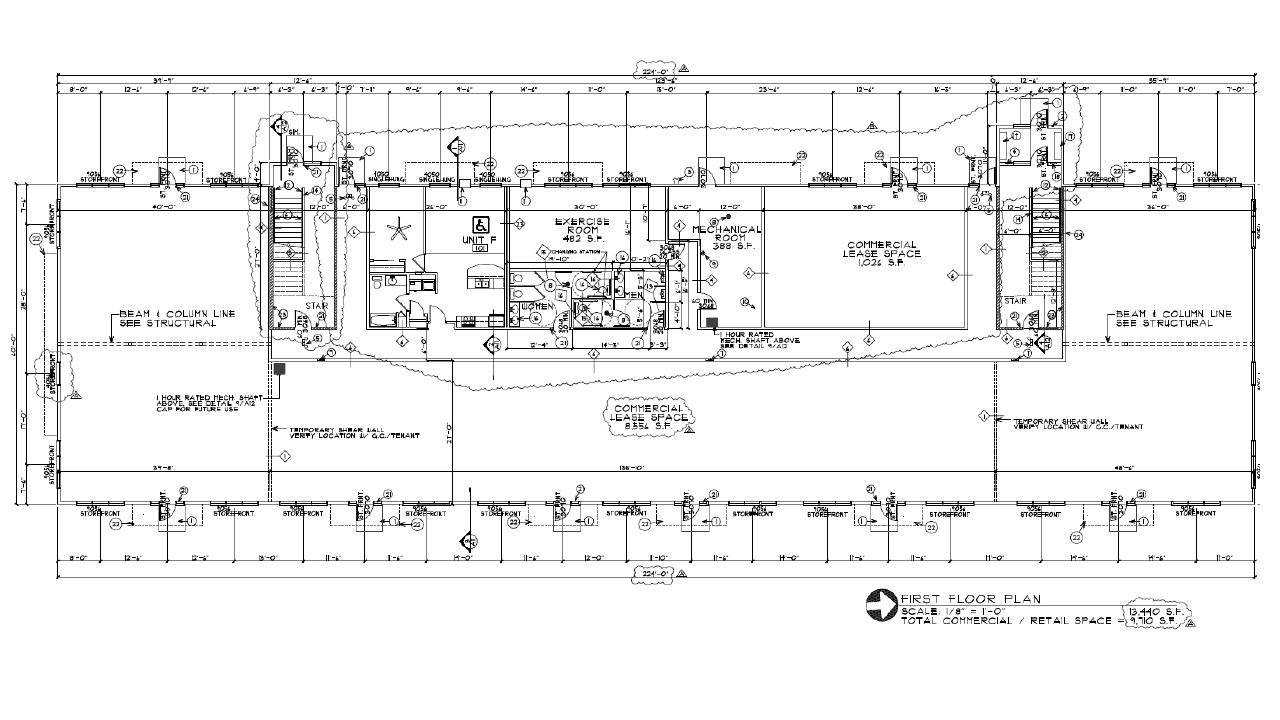 Tioga Square floor plan