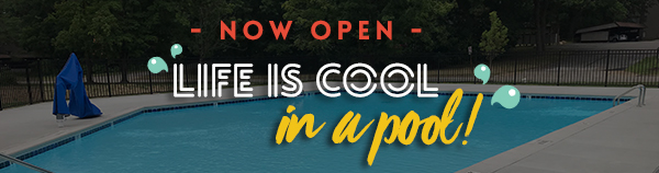 announcement - pool now open