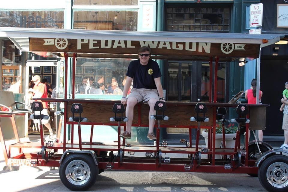 pedal wagon cincinnati ohio