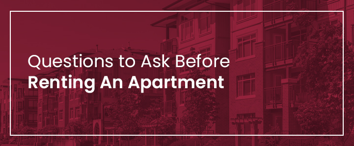 Questions to Ask Before Renting An Apartment