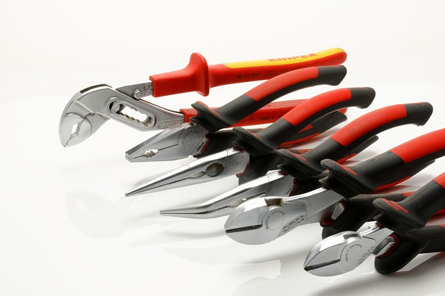 apartment renters toolbox pliers