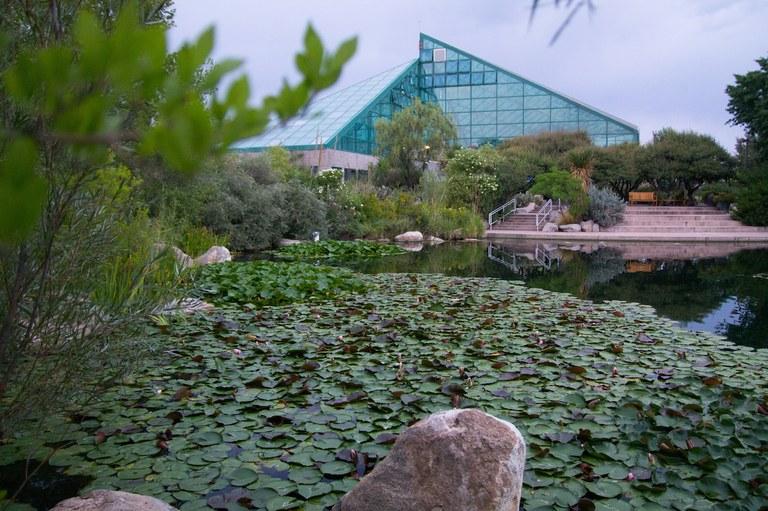 abq biopark botanical garden ne mexico