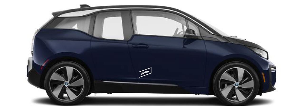 Sample Envoy electric vehicle