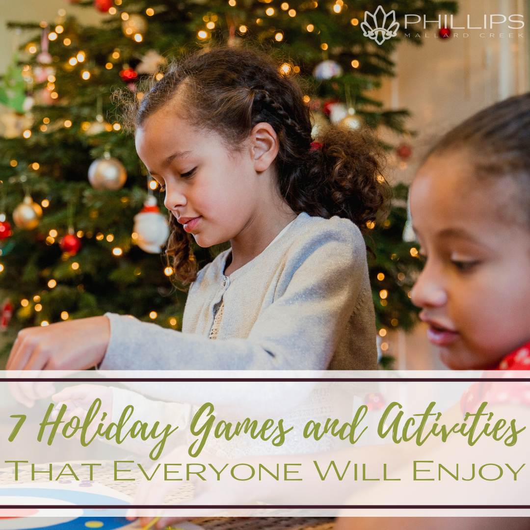 7 Holiday Games and Activities That Everyone Will Enjoy | Phillips Mallard Creek Apartments