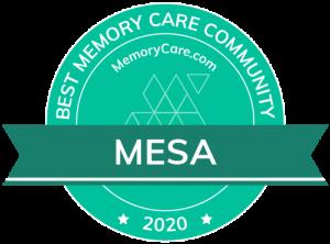 Scottsdale Village Square is a MemoryCare.com Best Memory Care Community winner for 2020!