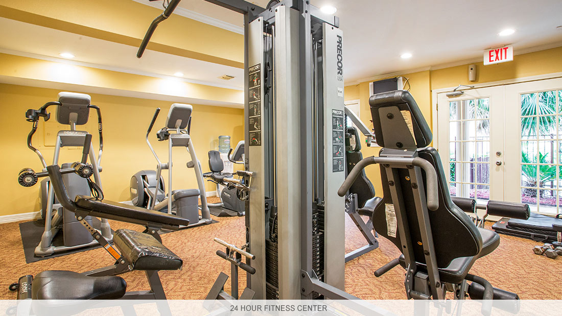 Louisiana apartment complex with 24 hour fitness center
