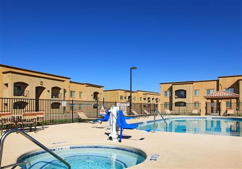 Map and Directions to Raintree Apartments I and II in Clovis, NM