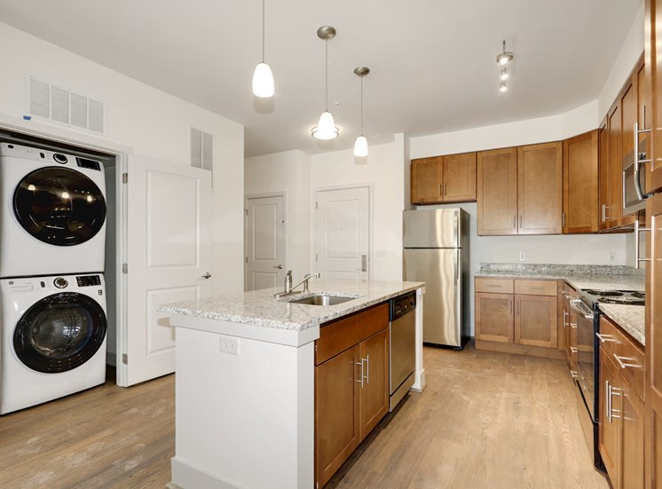 A2A Laundry and Kitchen area at Avenue Grand, White Marsh, MD