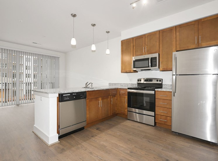 Fully Equipped Kitchen at Avenue Grand, White Marsh, MD, 21236