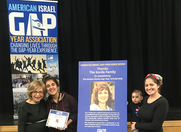 The American Israel Gap Year Association Champions