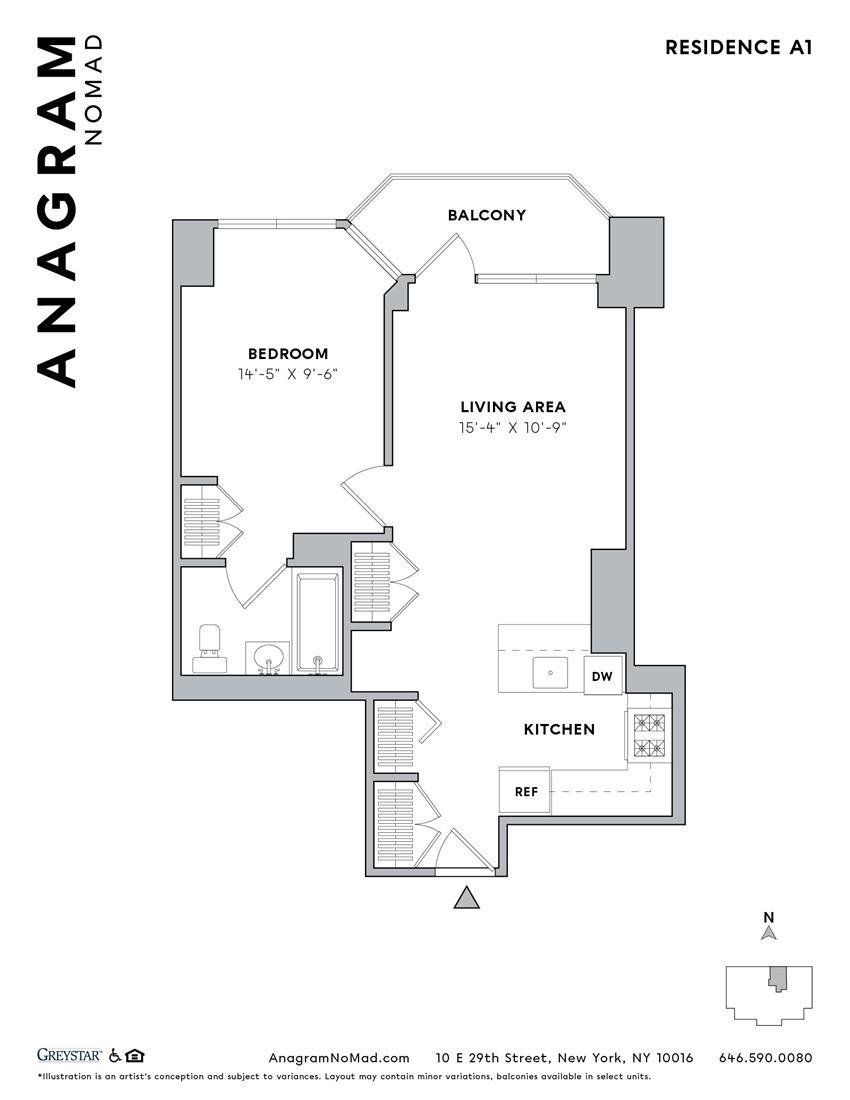 Anagram NoMad A1 1B1B