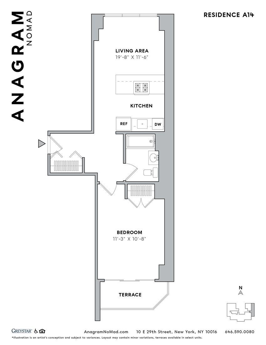 Anagram NoMad A14 1B1B