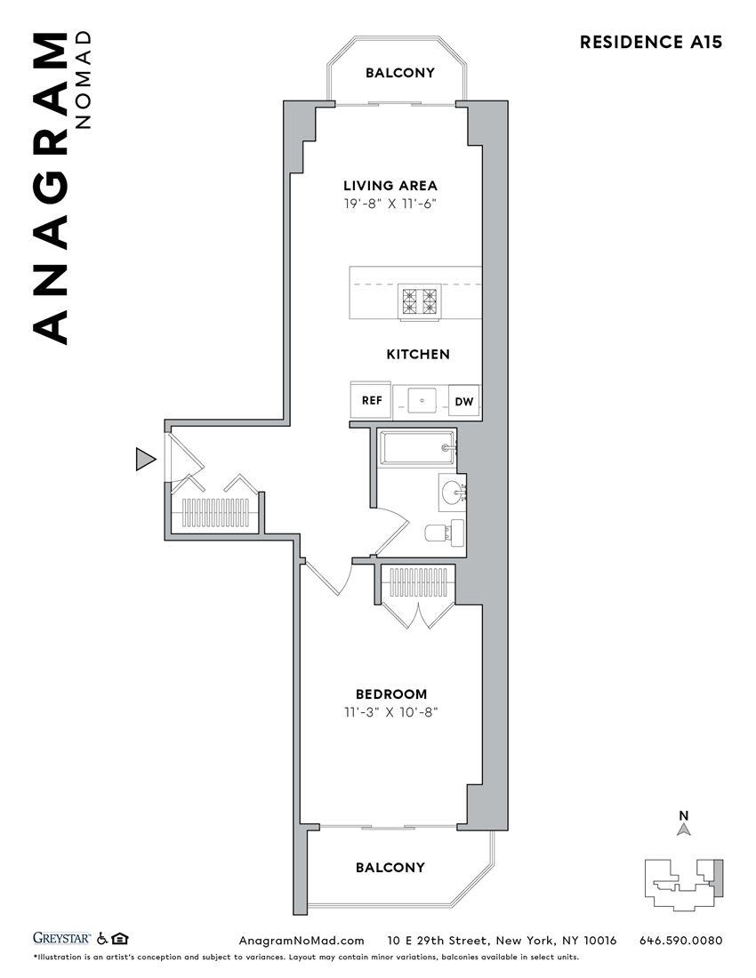 Anagram NoMad A15 1B1B