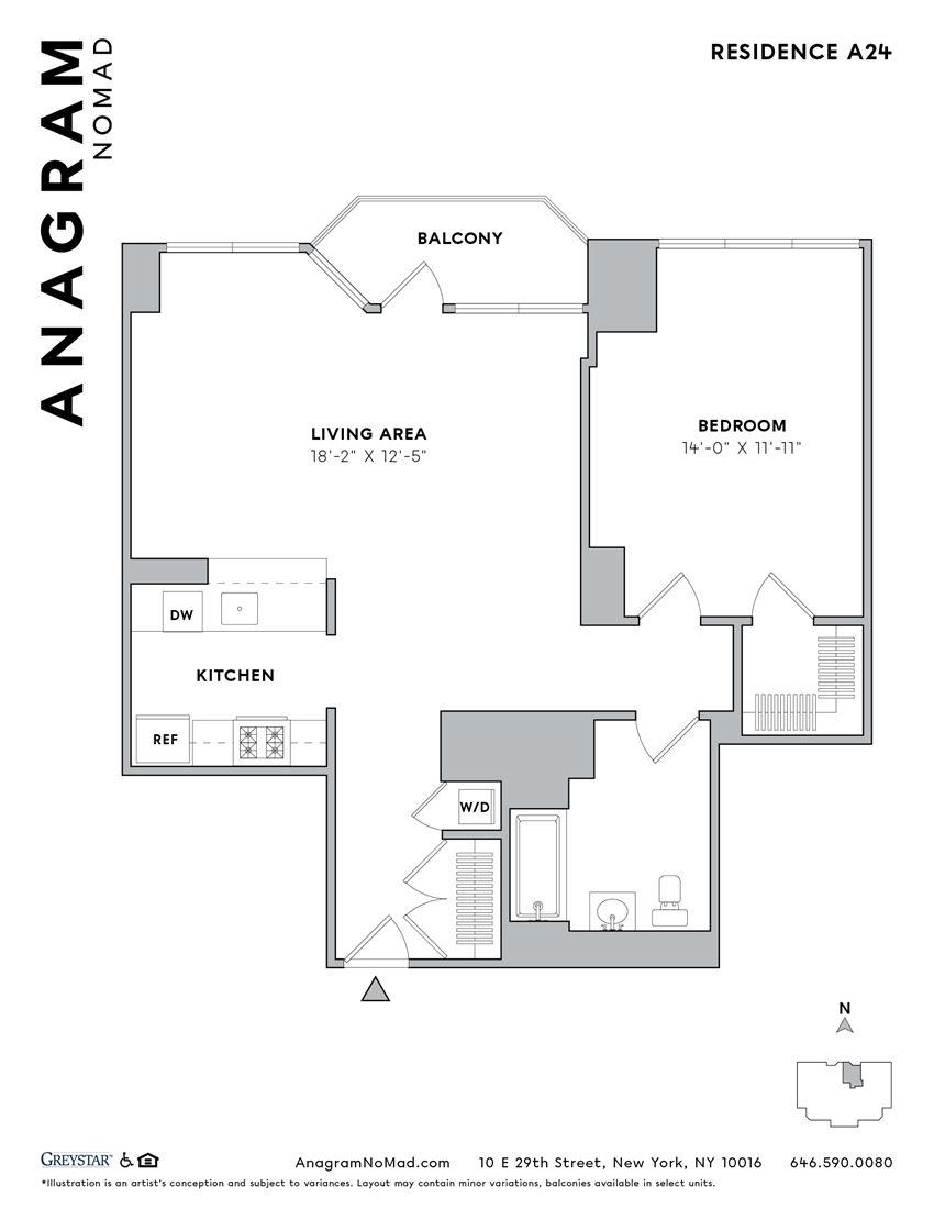 Anagram NoMad A24 1B1B