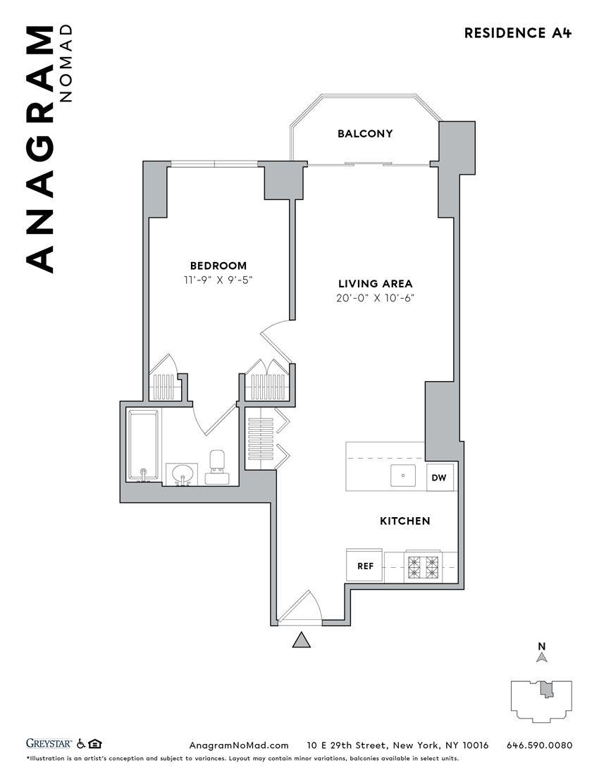 Anagram NoMad A4 1B1B