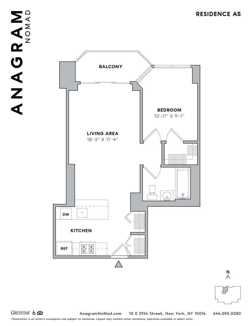 Anagram NoMad A5 1B1B