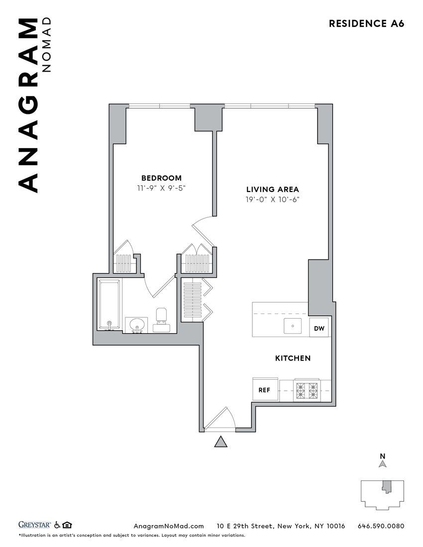 Anagram NoMad A6 1B1B
