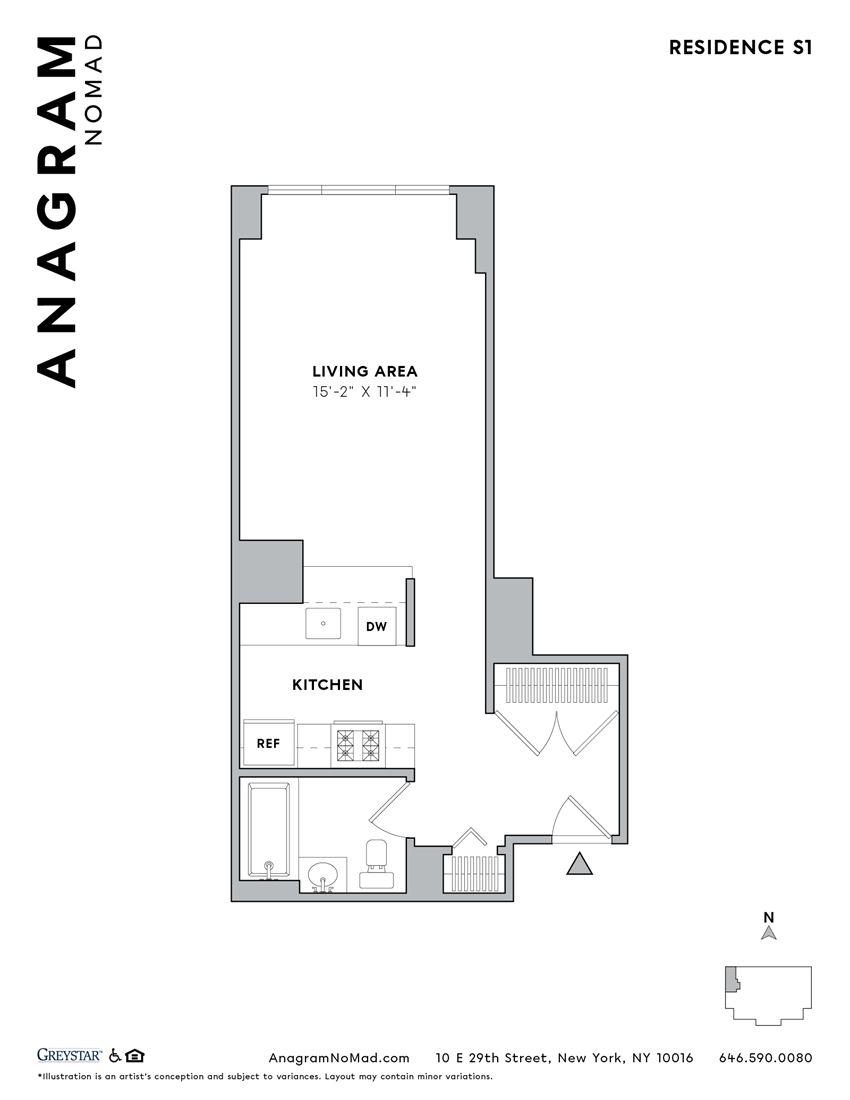 Anagram NoMad S1 Studio