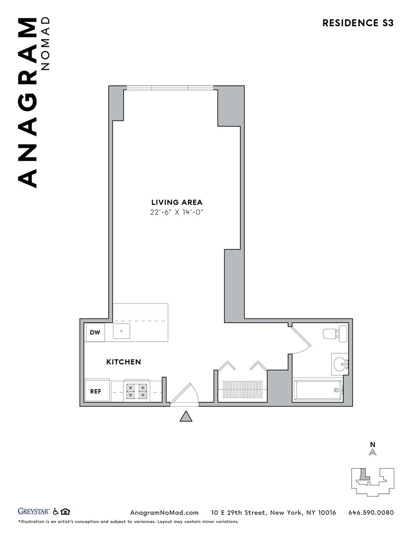 Anagram NoMad S3 Studio