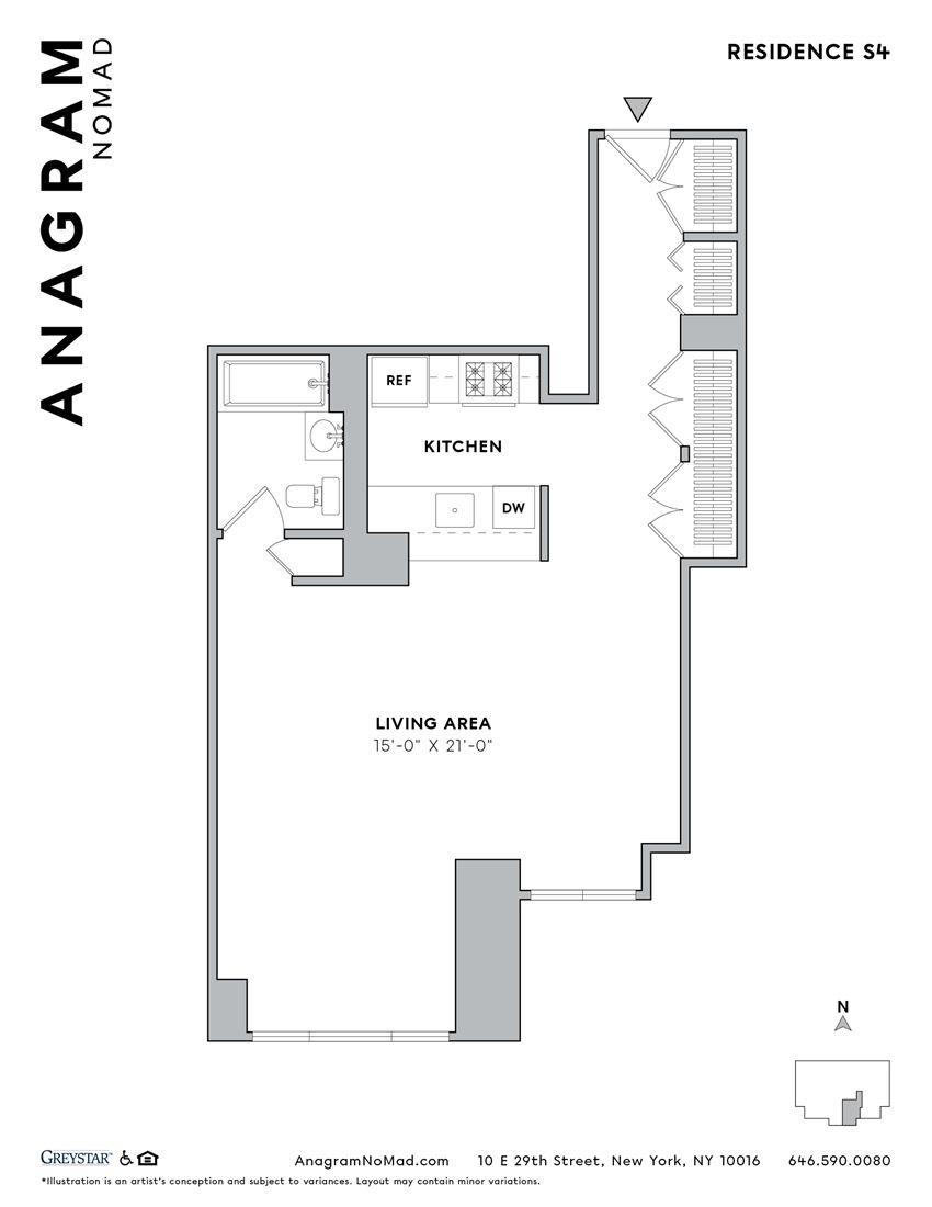 Anagram NoMad S4 Studio
