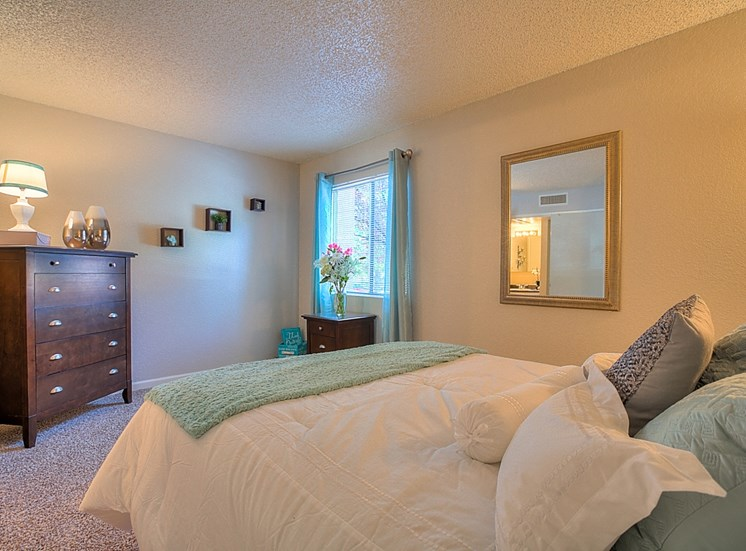 Private Master Bedroom Balcony With Over sized Windows at Eagle Point Apartments, Albuquerque, 87111
