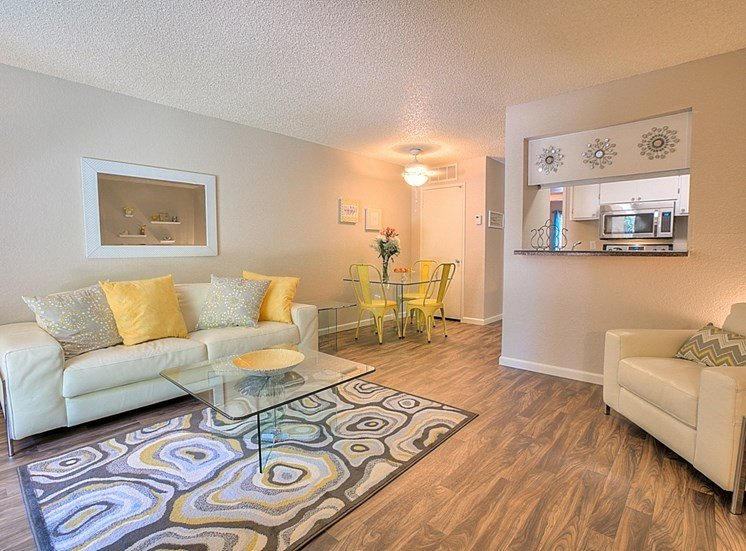 Luxurious Living Room With Modern Amenities at Eagle Point Apartments, 4401 Morris Street NE